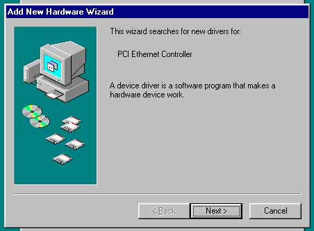 pci ethernet controller