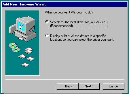 add new hardware wizard